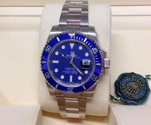ロレックス サブマリーナ スーパーコピー116619LB ブルー