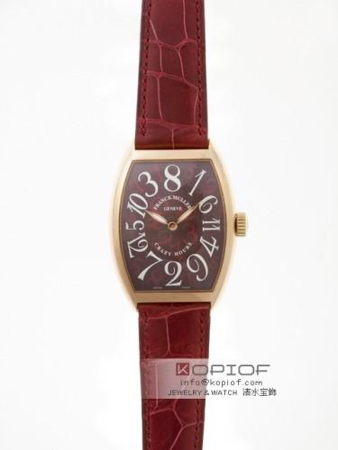 フランクミュラー クレイジーアワーズ スーパーコピー7851CH 3N 3N ワインレッド皮 ワインレッド
