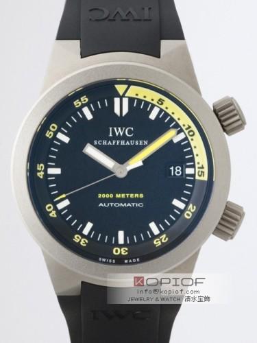 IWC アクアタイマー スーパーコピーIW353804 ラバー ブラック