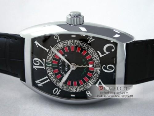フランクミュラー ヴェガス スーパーコピー8880VEGAS AC AC ブラック皮 ブラック