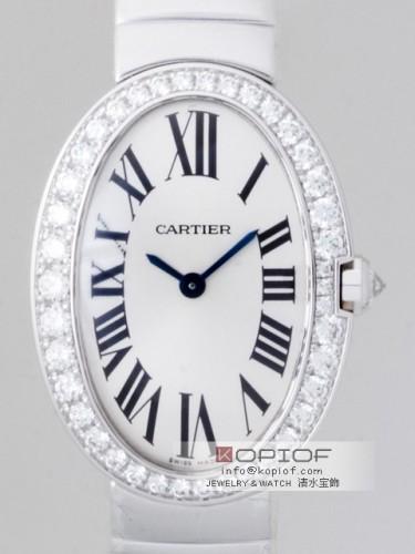 カルティエ ベニュワール スーパーコピーWB520006 WG ケースダイヤ ブレス ホワイト