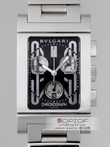 ブルガリ レッタンゴロ スーパーコピーRTC49BSSD クロノグラフ ブラック