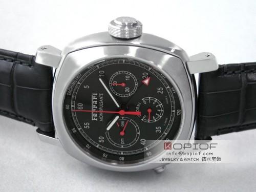 パネライ フェラーリ スーパーコピーグラントゥーリズモ 8DAYS GMT モノプルサンテ FER00020 45mm 世界限定300本 ブラック
