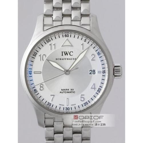 IWC スピットファイヤー スーパーコピーIW325314 マークXV シルバー