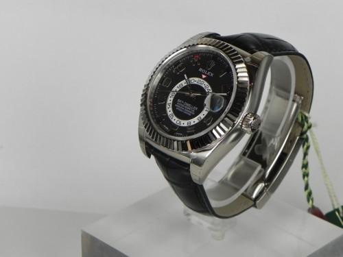 ロレックス スカイドゥエラー スーパーコピー326139 ブラック