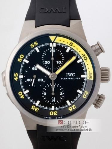 IWC アクアタイマー スーパーコピーIW372304 スプリット・ミニッツ・クロノグラフ ブラック