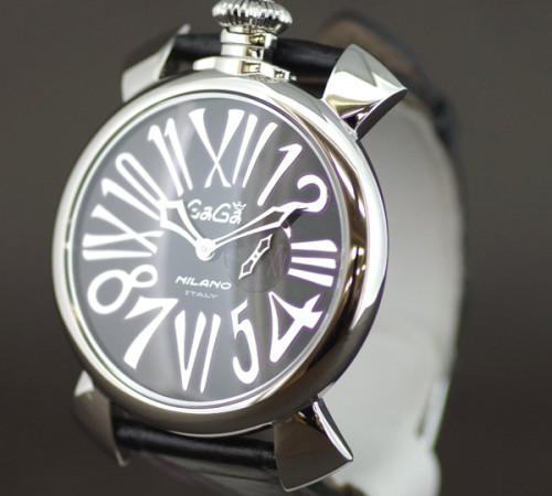 ガガミラノ スリム46MM スーパーコピーステンレス 時計 ユニセックス 5084.1