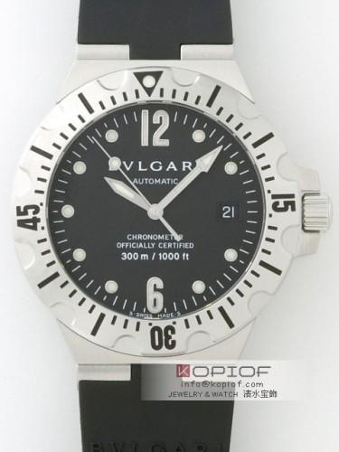 ブルガリ スクーバー スーパーコピーSD40SVD ブラック