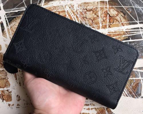 ルイヴィトン モノグラム マヒナ 財布スーパーコピージッピーウォレット M61867 マヒナ・レザー