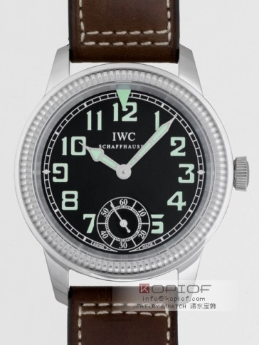 IWC パイロットウォッチ スーパーコピーIW325401 ブラウン皮 手巻き ブラック
