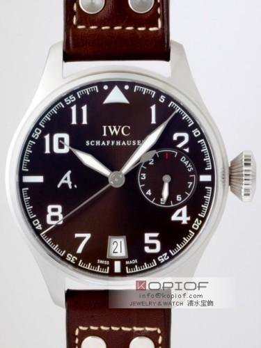 IWC パイロットウォッチ スーパーコピーIW500422 アントワーヌ・ド・サンテグジュペリ 7DAYS ブラウン