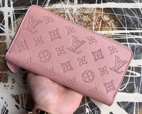 ルイヴィトン モノグラム マヒナ 財布スーパーコピージッピーウォレット M61868 マヒナ・レザー カーフスキン