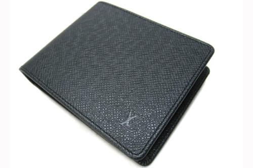 ルイヴィトン タイガ 財布スーパーコピーレザー ポルトフォイユ・フロリン M31112