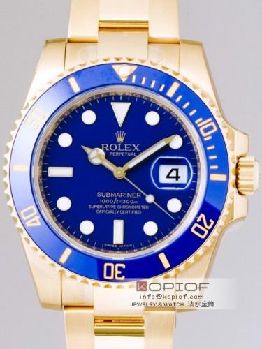ロレックス サブマリーナ スーパーコピー116618LB ブルー