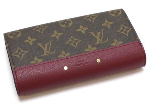 ルイヴィトン モノグラム・マカサー 財布スーパーコピーポルトフォイユ パラス M58413 オロール