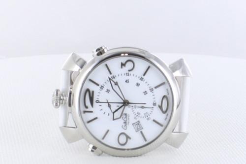 ガガミラノシンクロノ46MM スーパーコピーTHIN CHRONO ステンレス 時計 5097.02WH