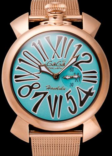 ガガミラノ スリム46MM スーパーコピーユニセックス 限定モデル 時計 5081.L.E.HO.2