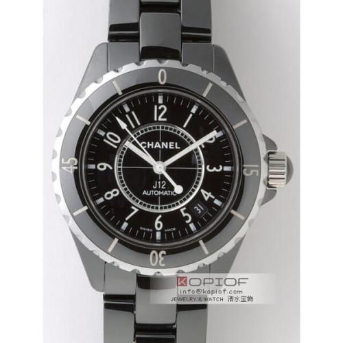 シャネルJ12 スーパーコピーシャネル CHANEL J12 H0685ブラックセラミックブレス ブラック