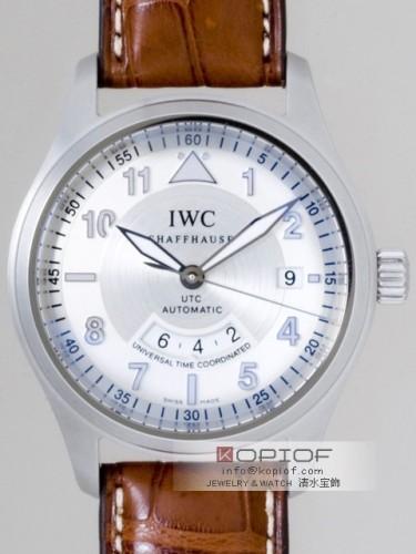 IWC スピットファイヤー スーパーコピーIW325110 フリーガーUTC シルバー