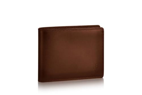 ルイヴィトン ノマド 財布スーパーコピーキュイール・オンブレ ナチュラルレザー ポルトフォイユ・ミュルティプル M61198