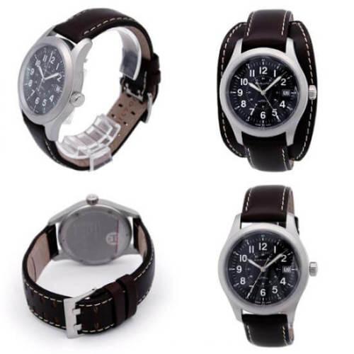 ハミルトン カーキ フィールド スーパーコピーメカ オフィサー 腕時計 メンズ H69519533