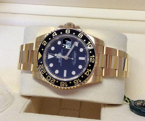 ロレックス GMTマスターII スーパーコピー116718LN ブラック