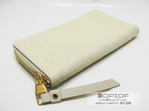 ルイヴィトン モノグラムアンプラント財布スーパーコピーポルトフォイユ・スクレット ロン(ラウンド長財布) M93437