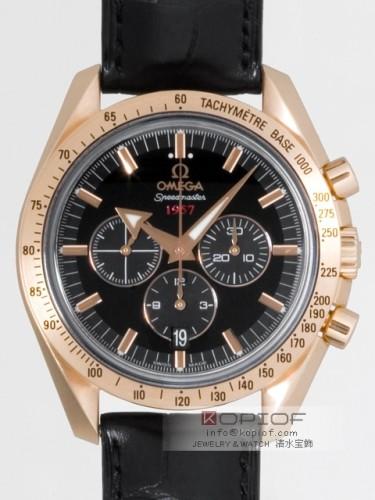 オメガ スピードマスター スーパーコピー321.53.42.50.01.001 ブロードアロー1957 50周年 ブラック/グレー
