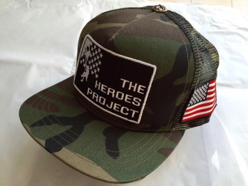 クロムハーツ 帽子 コピー 大人気商品 TRUCKER CAP THE HEROS PROJECT カモフレージュ