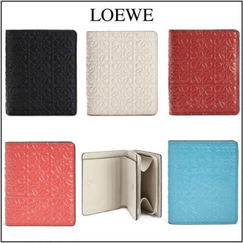 新作★ロエベ 財布 偽物 LOEWE★Repeat Compact ジップロゴウォレット 109.10GZ4