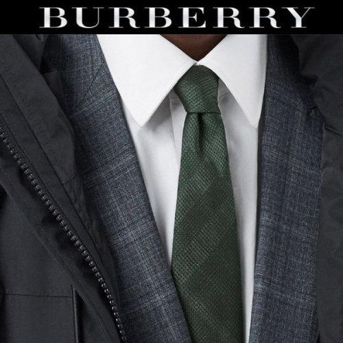 BURBERRY ブランドネクタイ偽物 20AW スーツスタイルを大人格好良く決める☆ネクタイ