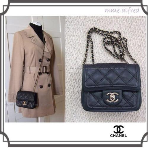 Chanelシャネルスーパーコピー☆ミニマトラッセチェーンバッグ【レア】A54678 シャネルマトラッセ パロディ