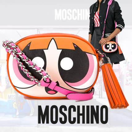 MOSCHINO コピー パワーパフガールズ 斜めがけバッグ A75598001
