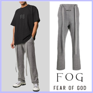 関税込☆FEAR OF GOD [FOG]パロディロゴパッチ トラックパンツ 6H193008HFT