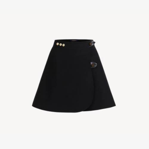 Louis Vuitton ルイヴィトン偽物ラインミニラップスカート1A82RC