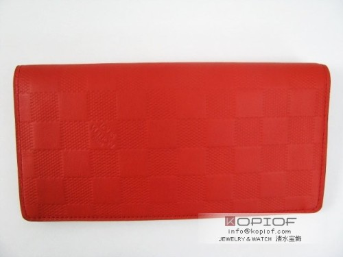 ルイヴィトン モノグラムアンプラント財布スーパーコピーポルトフォイユ・ブラザ オレンジ N63011