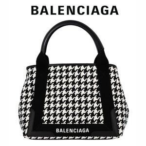 バレンシアガ トートバッグ コピー Balenciaga ネイビー カバ S ハウンドトゥース