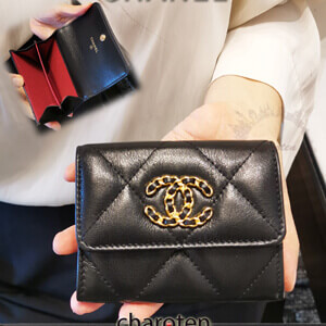 CHANEL19スーパーコピー パロディ♡小バッグに♪カード/コインケース 512163751