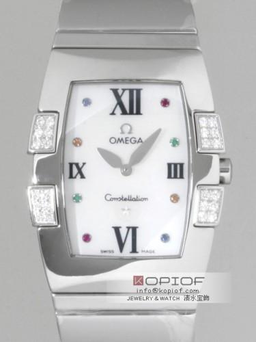 オメガ コンステレーション スーパーコピー1586.79 クアドレラ ダイヤモンド ホワイトシェル