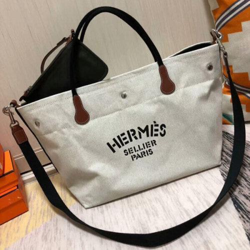 エルメススーパーコピー カヴァリエ HERMES バッグ トート チョーク H060752CAAA