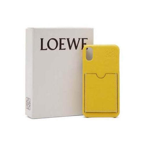 LOEWE ロエベ ケース コピー☆アナグラム レザー iPhoneケース
