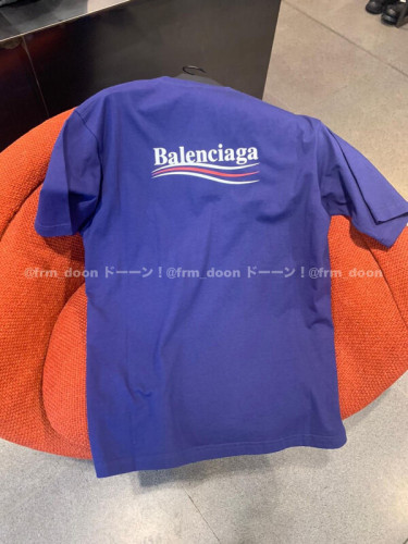 バレンシアガ tシャツ 偽物 BALENCIAGA ロゴ Tシャツ 2020SS新作 Political Campaign