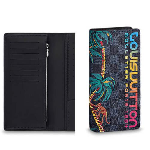ルイヴィトン 財布コピー BRAZZA WALLET ヴィトン ウォレット N63509 2018年の春/夏のメンズファッションショーにインスパイアされたジャングルのテーマは