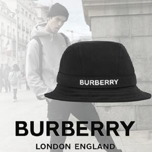【BURBERRY】バーバリー キャップ コピー ロゴプリント コットンジャージー バケットハット
