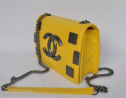 シャネル255 スーパーコピー2014春夏新作新品バッグ A68183-yellow