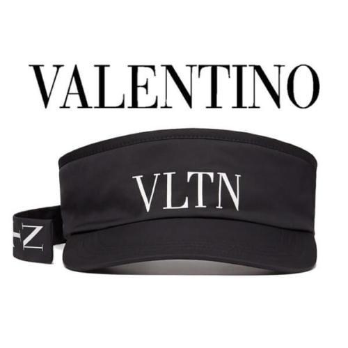 Valentino ヴァレンティノ キャップ コピー ◆VLTN BASEBALL CAP◆VLTN ディテール付きバイザーハット◆SY2HDA01QYK0NI