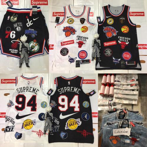 スーパーコピー Supreme Nike NBA Teams Authentic Short White Medium ボトムス