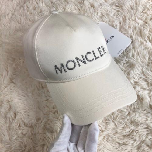 モンクレール キャップ コピー ロゴ キャップホワイト