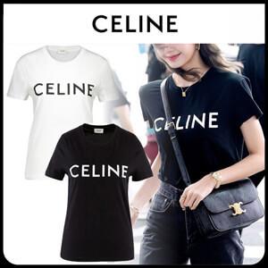 CELINE セリーヌ tシャツ 偽物 フロントロゴ2X314916G.01OB