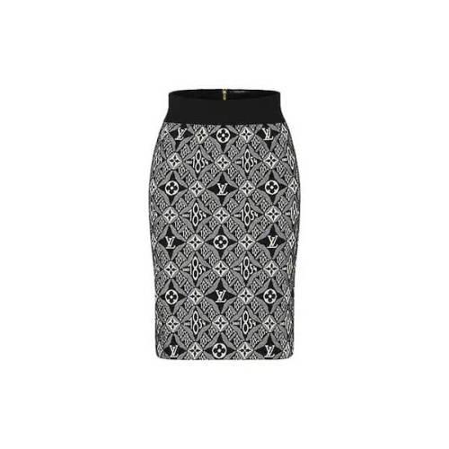 《新作★》 Louis Vuitton偽物ウール ブレンド ミニスカートコピー 1A8E59